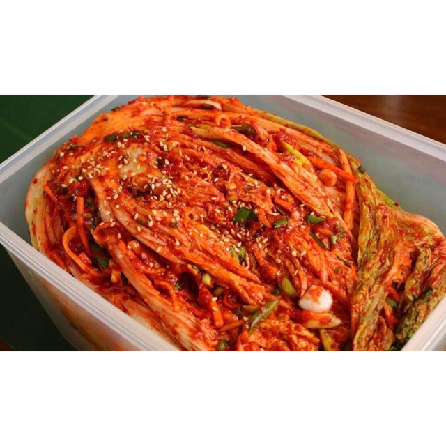 Kimchi phong cách Hàn Quốc ☀️☀️☀️
