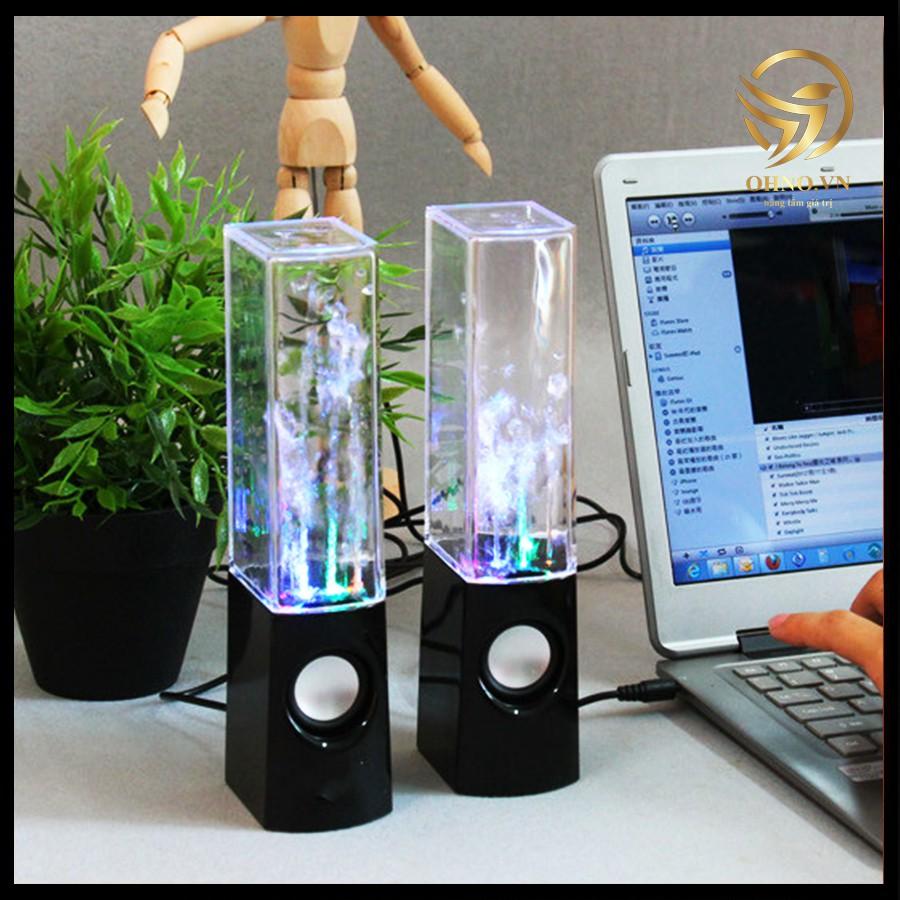 Loa Máy Vi Tính Loa Nghe Nhạc Phun Nước 3D Theo Điệu Nhạc Loa Nghe Nhạc Mini Để Bàn Có Dây – OHNO Việt Nam