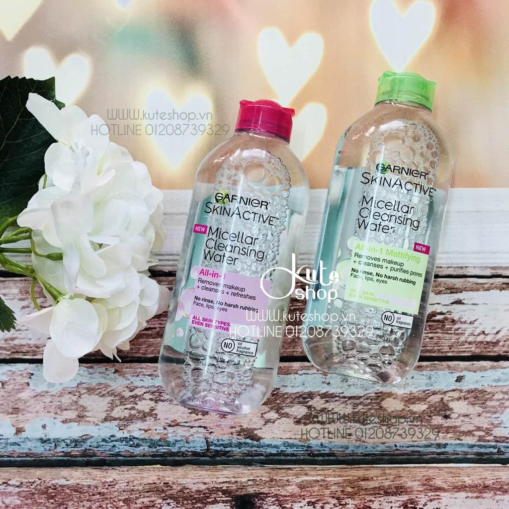 {Hàng Mỹ/Pháp} Nước tẩy trang Garnier Skin Active Micellar Cleansing Water 400ml - 2880094 , 86214544 , 322_86214544 , 230000 , Hang-My-Phap-Nuoc-tay-trang-Garnier-Skin-Active-Micellar-Cleansing-Water-400ml-322_86214544 , shopee.vn , {Hàng Mỹ/Pháp} Nước tẩy trang Garnier Skin Active Micellar Cleansing Water 400ml