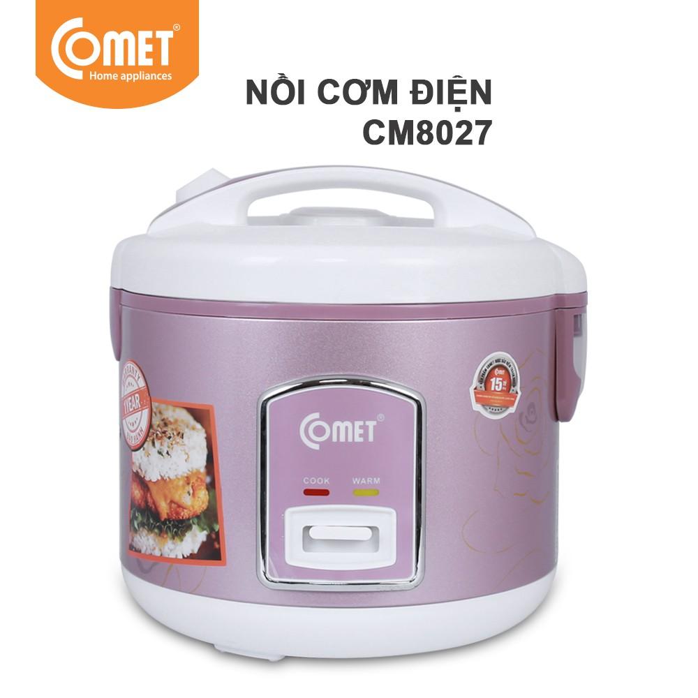 Nồi cơm điện nắp gài Comet CM8027 - 3584977 , 879555647 , 322_879555647 , 485000 , Noi-com-dien-nap-gai-Comet-CM8027-322_879555647 , shopee.vn , Nồi cơm điện nắp gài Comet CM8027