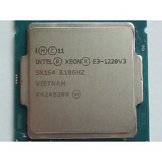 Chip CPU Xeon E3 1220V3 8Mb Cache, 4 nhân 4 luồng, Socket 1150 mạnh mẽ hơn I5 4590