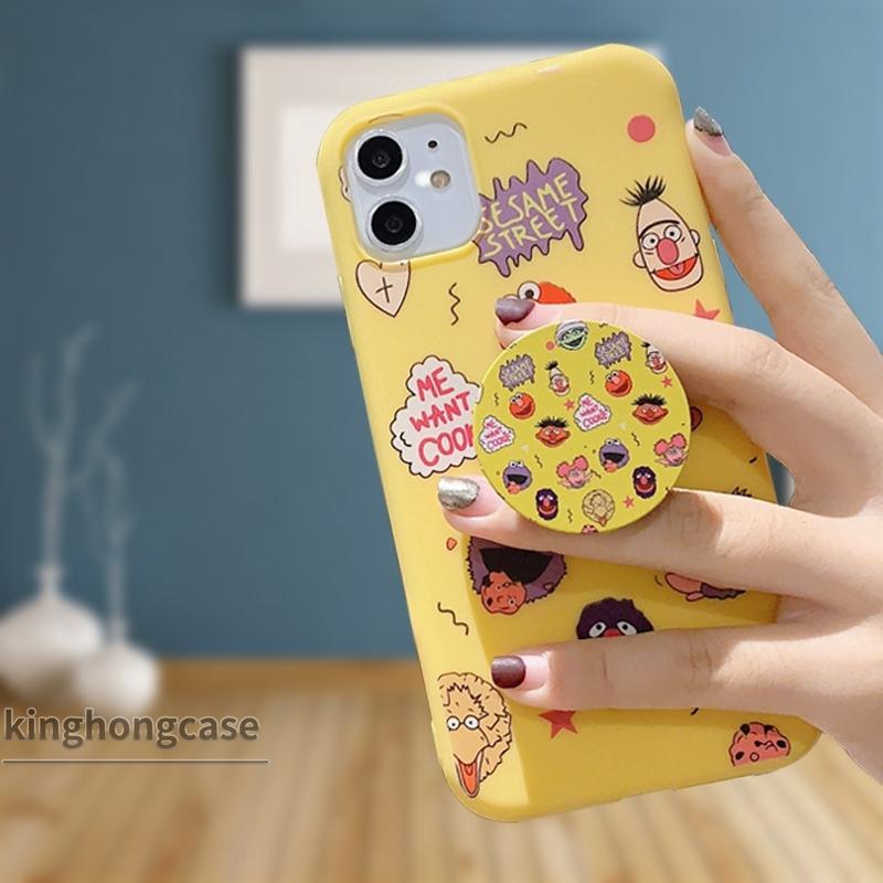Giá đỡ điện thoại họa tiết hoạt họa xinh xắn