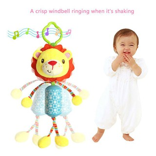 Baby Stroller Hanging Toys Crib Ring Rattle