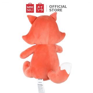 Hình ảnh Thú bông Miniso hình con cáo ngồi - Hàng chính hãng-2