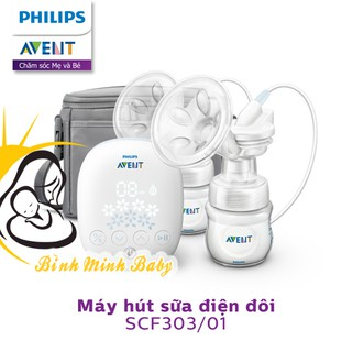 Chính hãng Máy hút sữa hoa tuyết Philips Avent bằng điện đơn đôi giá rẻ