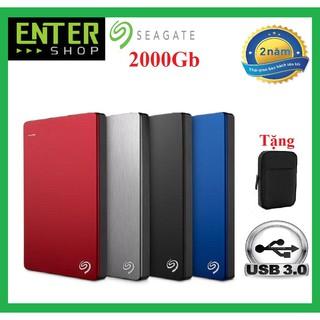 Ổ cứng di động 2Tb Seagate Slim Usb 3.0 Tặng túi bảo vệ