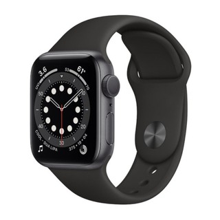 Review Apple Watch Series 6 44mm GPS – Viền nhôm xám, dây Sport Band (Đen)