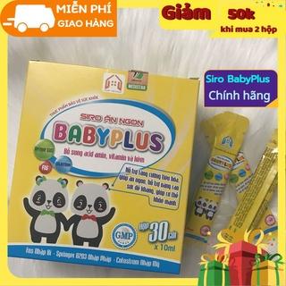 Combo 2 hộp SIRO ĂN NGON BABYPLUS Siro Ăn Ngon Baby Plus giúp tăng cường tiêu hóa, giúp trẻ ăn ngon, cơ thể khỏe mạnh