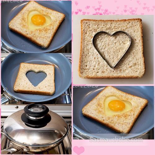 [Bán buôn/ lẻ] - Khay tạo hình chiên trứng (01 khay) - Bán buôn siêu rẻ