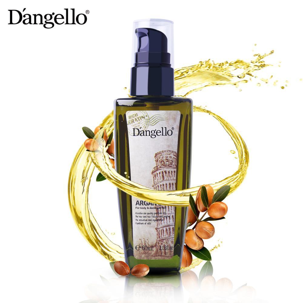 Tinh dầu Dangello Argan Oil 60ml dưỡng tóc bóng khỏe, mềm mượt