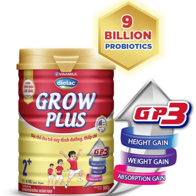 Sữa Bột Grow Plus 1+, 2+ Vinamilk 900gram