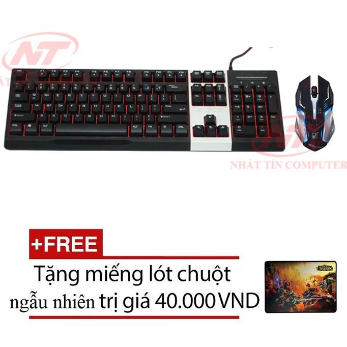 Bộ bàn phím LED giả cơ và chuột chơi Game AK10 - K1 (Đen) + Tặng kèm lót chuột - 2563688 , 262080932 , 322_262080932 , 590000 , Bo-ban-phim-LED-gia-co-va-chuot-choi-Game-AK10-K1-Den-Tang-kem-lot-chuot-322_262080932 , shopee.vn , Bộ bàn phím LED giả cơ và chuột chơi Game AK10 - K1 (Đen) + Tặng kèm lót chuột