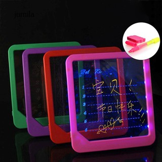 JL_LED Board Lighting Up Drawing Writing Kids Educational Gifts for Child