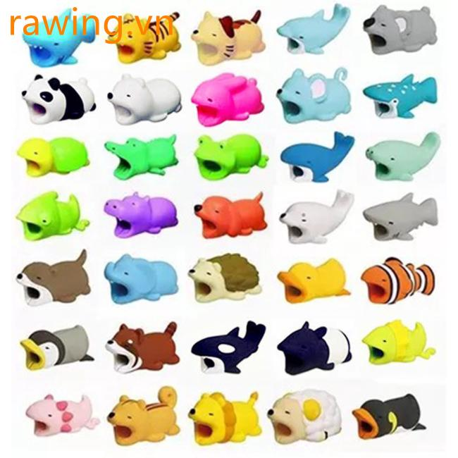 3D Cartoon Animal Cable Protector Bite for Cable Line