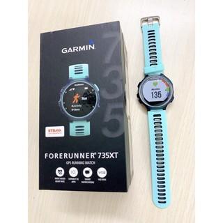 [New seal full box] – Đồng hồ GPS running watch Garmin Forerunner 735XT chống nước màu xanh mint bảo hành 1 tháng