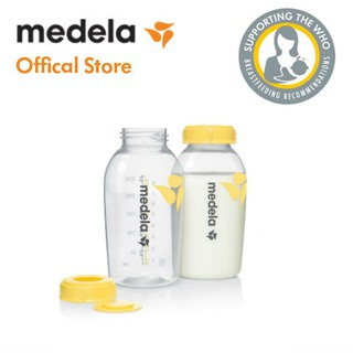 Bình trữ sữa Medela bộ 2 bình loại 250ml