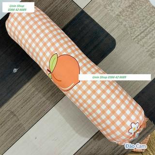 (Hot sale) Vỏ gối ôm poly cotton mẫu Đào Cam, áo gối dài nhiều mẫu đẹp, bao gối ôm người lớn 30x100cm có dây dù rút kéo thumbnail