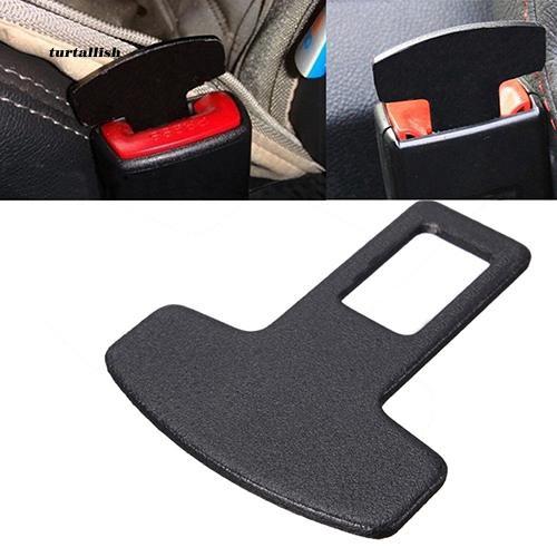 TTSL_Useful Universal Car Accessories Safety Seat Belt Buckle Alarm Stopper Eliminator Clip
