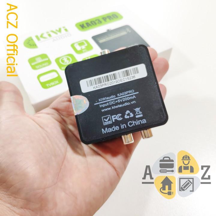 [Mã ELFLASH5 giảm 20K đơn 50K] Bộ chuyển đổi âm thanh quang Optical AV có bluetooth KA03 Pro