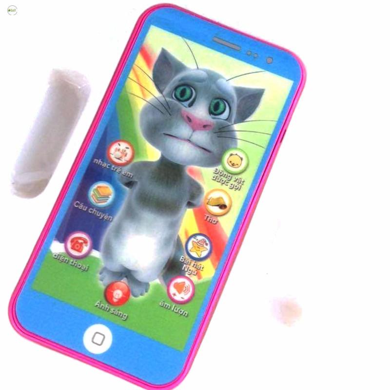 [HN]Điện thoại mèo Tôm biết nói ( Màu ngẫu nhiên ) cho bé