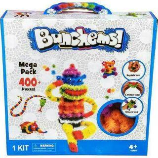Lắp ráp sáng tạo Bunchems mega pack 400pcs +