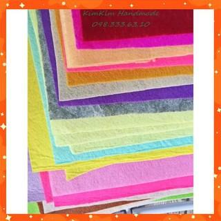 [Rẻ Vô Địch] Vải dạ nỉ làm đồ handmade