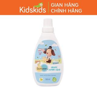 Nước giặt quần áo Organic cho bé Lamoon - Bình 700ml