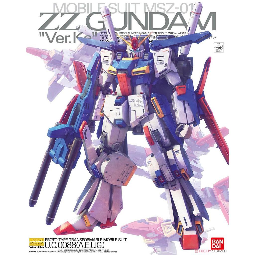 Mô Hình Gundam MG ZZ ver.Ka