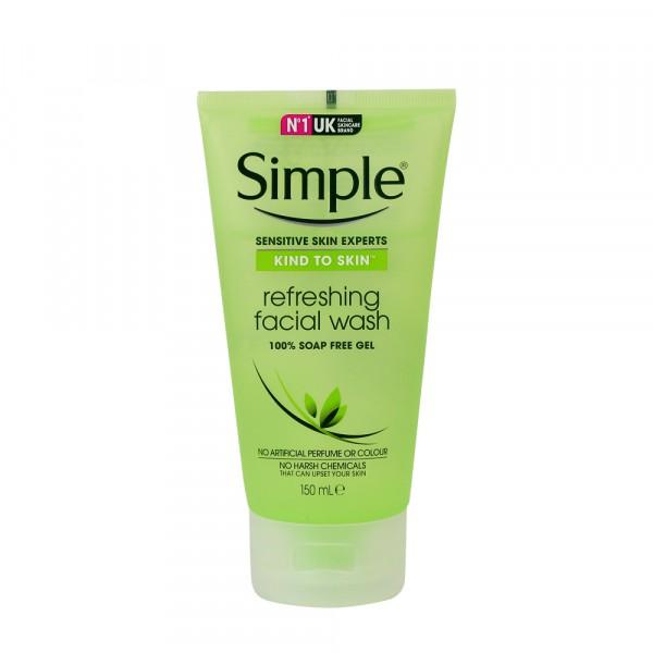 Sữa Rửa Mặt Cho Da Nhạy Cảm Simple Kind To Skin Refreshing Facial Wash Gel