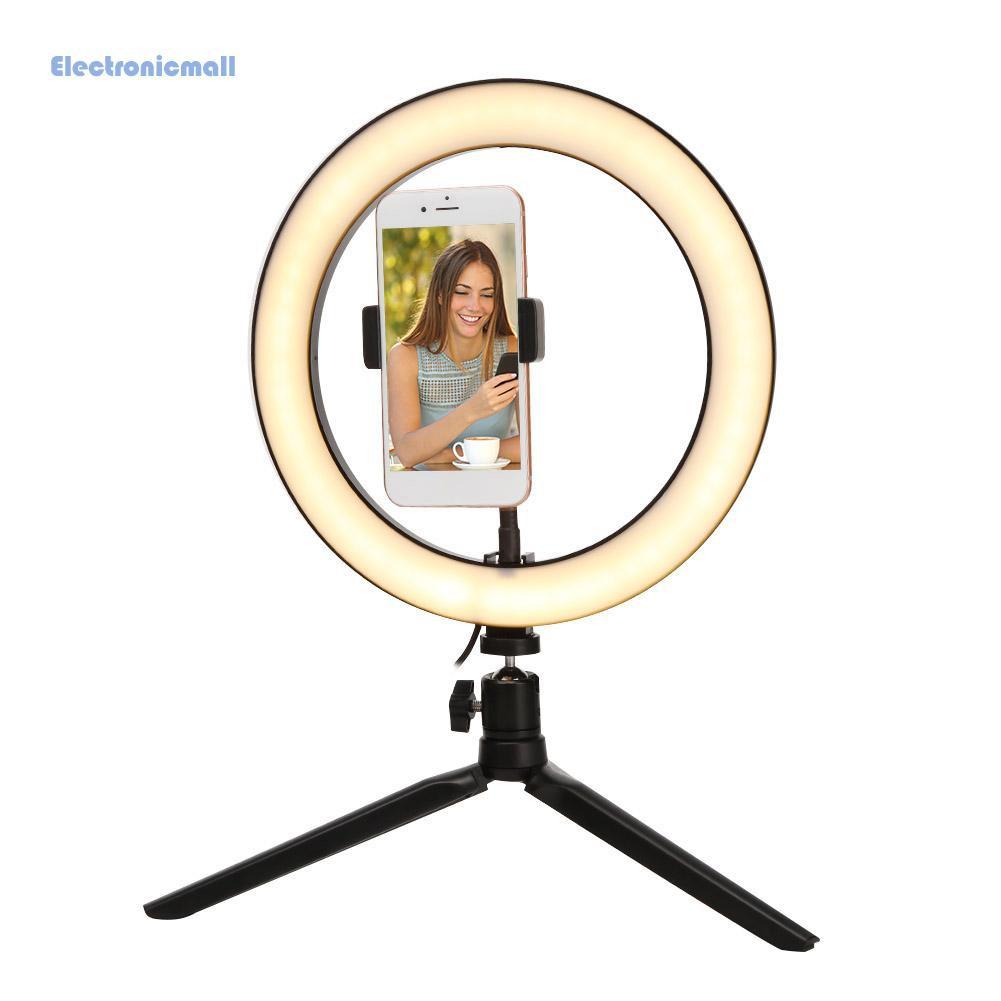 Đèn Led Tròn 10 Inch Hỗ Trợ Chụp Ảnh Kèm Điều Khiển Từ Xa