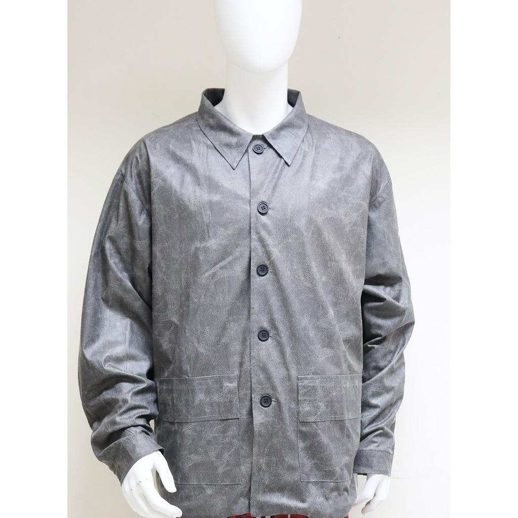 Áo khoác da mỏng nhẹ Can De Blanc (Leather Jacket)
