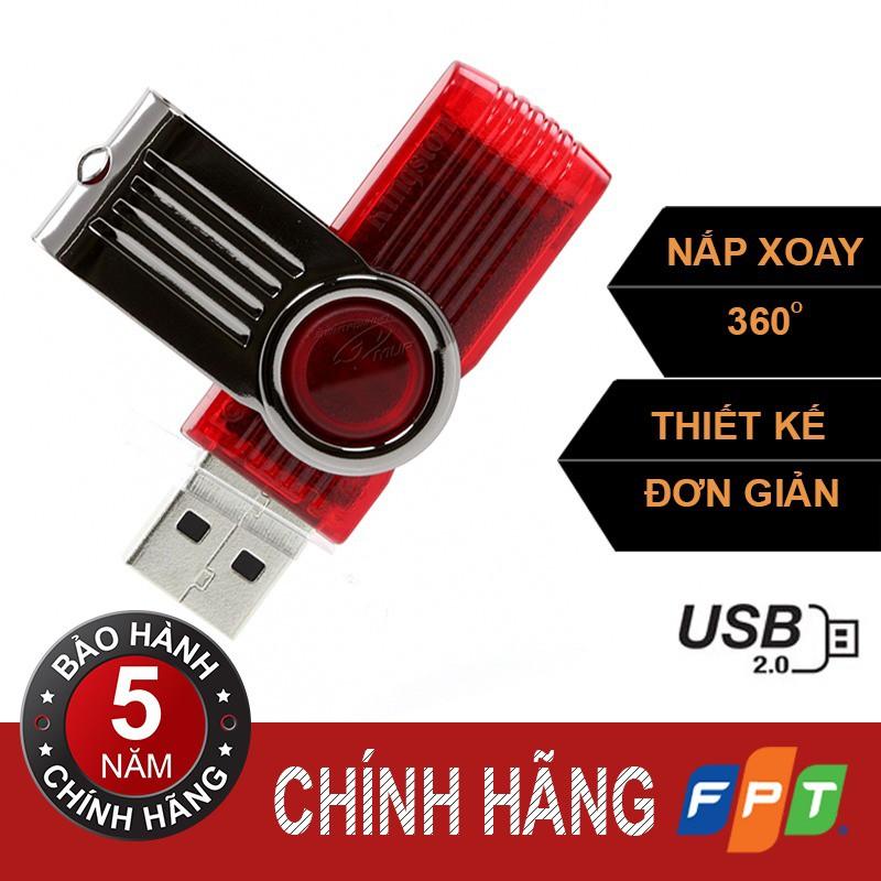 USB kington 8g DT101 2.0 chính hãng FPT phân phối
