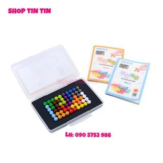 Đồ chơi đố trí viên bi IQ Puzzlia Beads puzzle 6×10