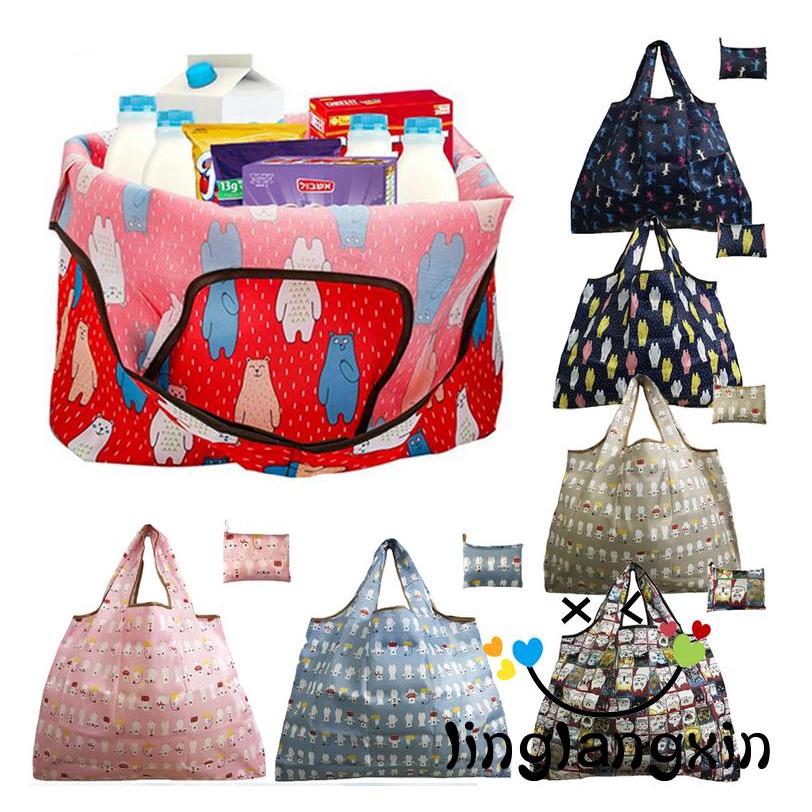LLX-Túi xách mua sắm dạng gập tiện dụng