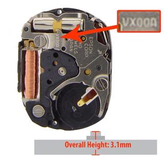Máy đồng hồ Hattori Epson VX00A Janpan Movements