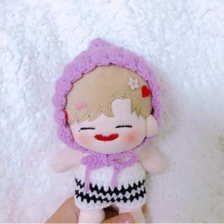 Mũ chóp bằng len cho doll (IB CHỌN MÀU)