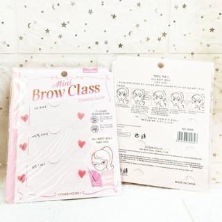 Khuôn Kẻ Mày Brow Class - Nhựa thumbnail