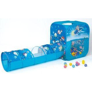 Bộ lều vuông ống chui của Enfa kèm 100 quả bóng nhựa