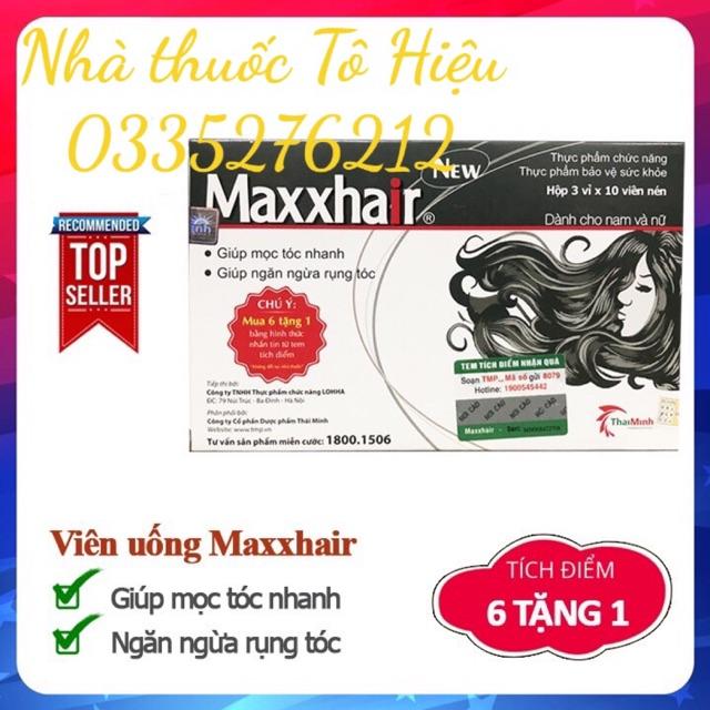 Maxxhair (Chính hãng)- Mọc tóc nhanh, ngăn ngừa rụng tóc