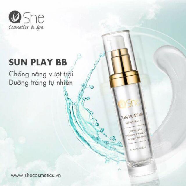 Khi mua Sunplay bb tặng kèm kem dưỡng Placenta Cream