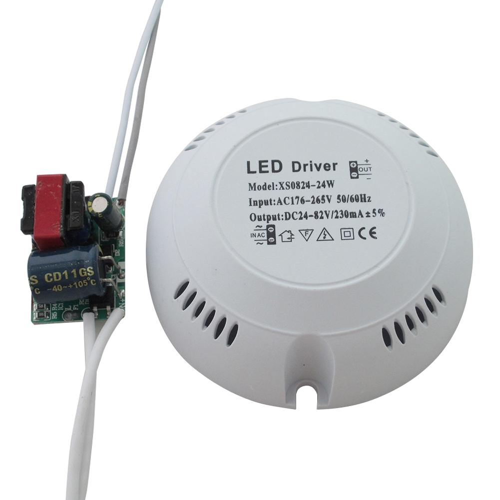 High Efficiency Round Ceiling Light Indoor Power Supply Safe Transform Constant Current Downlights LED Driver