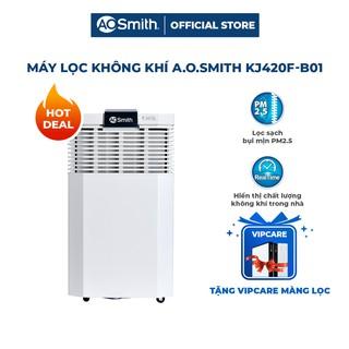 Máy lọc không khí A. O. Smith KJ420F-B01 và gói bảo dưỡng - thay thế bộ 4 màng lọc