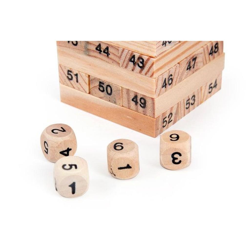 Đồ chơi rút gỗ thông minh cho bé 54 thanh
