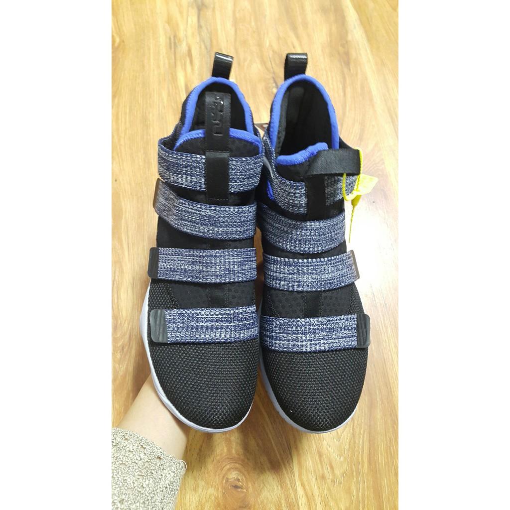 Giày J. Lebron Soldier XI Grey Blue