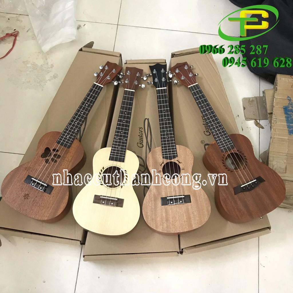 Đàn ukulele concert Size 23 tặng kem bao đàn, phím gãy