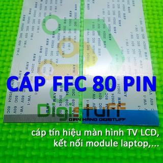 Cáp FFC ( cáp bẹ ) 80 pin AWM 20624 thay cáp laptop Sony và các thiết bị khác có style AWM 20706 AWM 2086