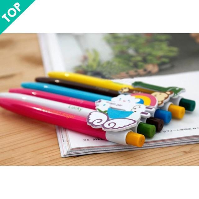 [HÀ NỘI] -  Combo 10 bút bi nhiều màu dễ thương