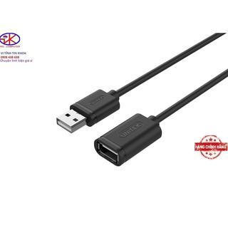 [Mã ELFLASH5 giảm 20K đơn 50K] Cáp nối dài usb 3M Unitek Y-C417.Cáp USB nối dài 3m xịn.