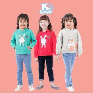 Áo Hoodie Bé Gái (3-9 Tuổi) K's Closet E088TEF / K144NIF TM