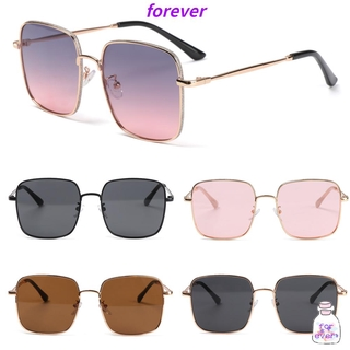 🌱FOREVER🌱 Women Anti-Blue Light Glasses Computer Ultra Light Frame Glitter Eyeglasses Portable Oversized Fashion Square Vintage Eye Protection